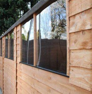15 x 10 Waltons Overlap Apex Modular Garden Workshop Windows
