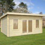 15' x 11' Palmako Jodie 44mm Log Cabin