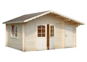 15' x 11' Palmako Louise 34mm Log Cabin