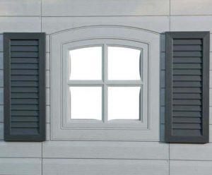 15' x 8' Lifetime Heavy Duty Plastic Shed - Single Entrance Window