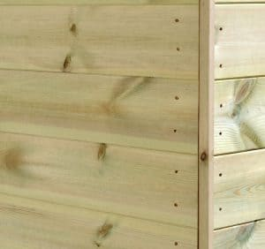 16' x 10' Shed-Plus Champion Heavy Duty Apex Single Door Shed Wall Cladding