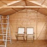 16' x 10' Windsor Groundsman Workshop Shed Inside View