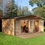 16' x 11' Berkshire Ruscombe 34mm Log Cabin