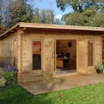 16' x 13' Berkshire Beedon 44mm Log Cabin