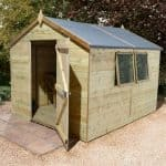 16' x 8' Shed-Plus Champion Heavy Duty Apex Single Door Shed