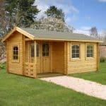 17' x 10' Palmako Susanna 44mm Log Cabin