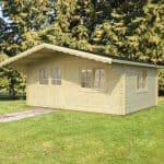 17'x12' Palmako Jessica 44mm Log Cabin