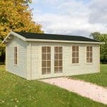 17'x13' Palmako Isabel 44mm Log Cabin