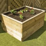1800 x 900 x 600 Waltons Standard Wooden Raised Bed
