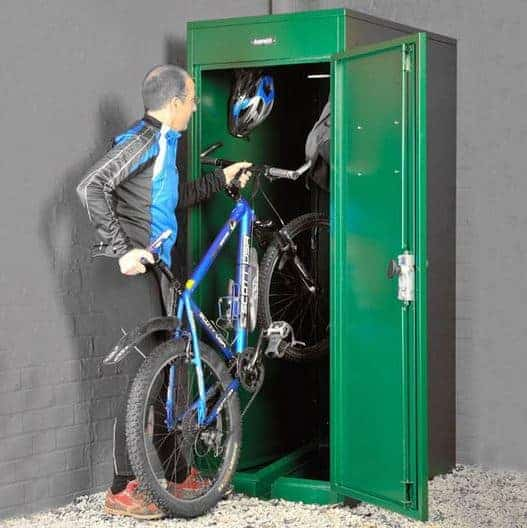 2' 6 x 3' 6 Asgard Vertical Bike Locker