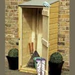 2' x 2' Wooden Garden Storage Unit - Shire Garden Store 22