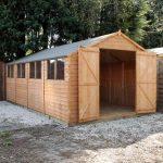 20 x 10 Waltons Overlap Apex Modular Garden Workshop
