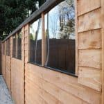 20 x 10 Waltons Overlap Apex Modular Garden Workshop Side Windows
