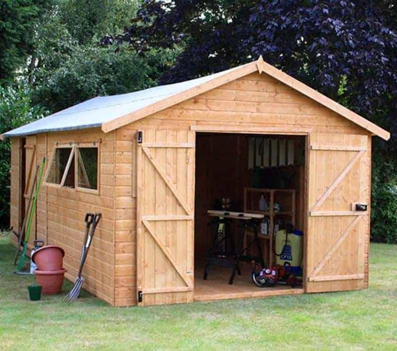 20' x 10' Windsor Groundsman Workshop Shed