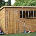 20' x 12' Traditional Heavy Pent Shed