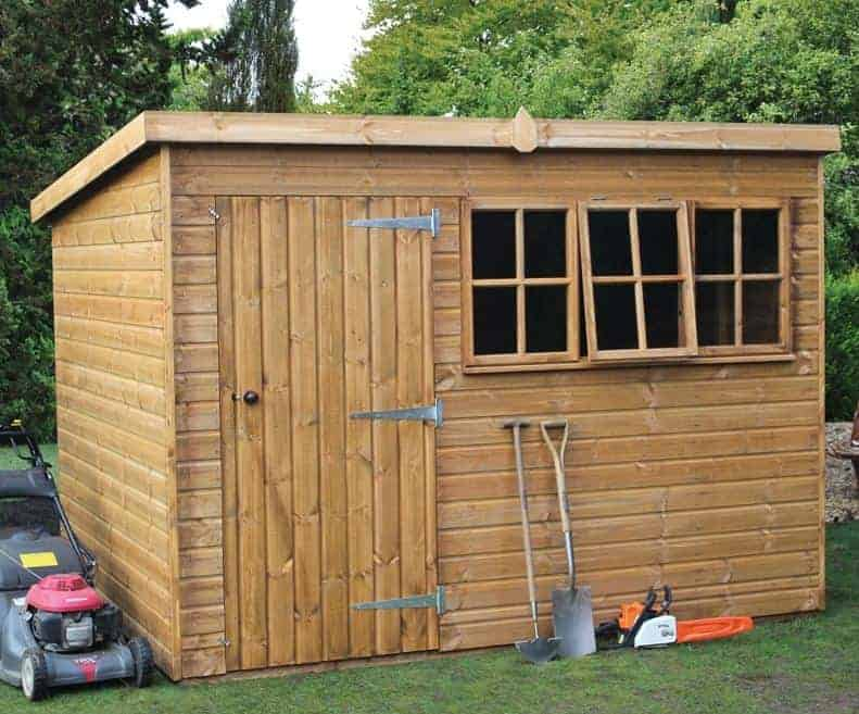 x traditional heavy pent shed what shed - Garden Sheds 7 X 14
