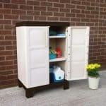 2'2 x 1'6 Chaselink Small Utility Cabinet Single Open Door
