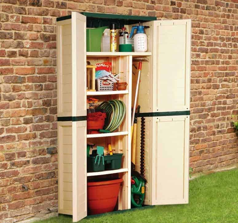 2'6 x 1'9 Store-Plus Utility Cabinet With Divider