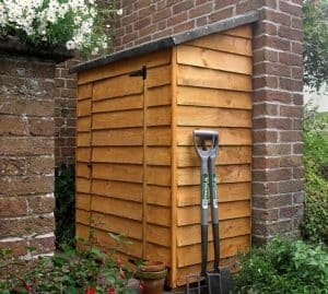 3' x 2' Tall Wooden Garden Storage Box - Store-Plus