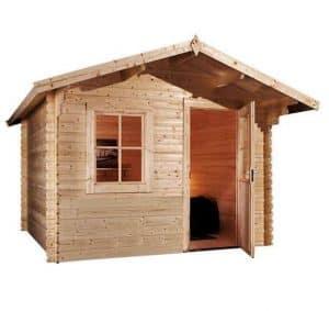3 x 2.4 Waltons Escape Log Cabin