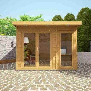 3 x 3 Waltons Insulated Garden Room Front View