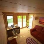 3 x 3 Waltons Insulated Garden Room Internal View