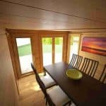 3 x 3 Waltons Insulated Garden Room Kitchen View