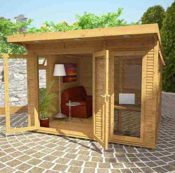 terrific insulated garden room | 3 x 3 Waltons Insulated Garden Room - What Shed
