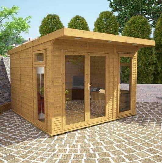 3 x 3 waltons insulated garden room what shed - 10 by 10 room ...