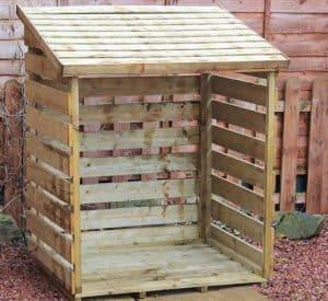 3' x 3' Windsor Single Log Store