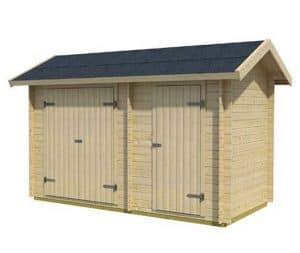 3 x 4 Workshop Log Cabin