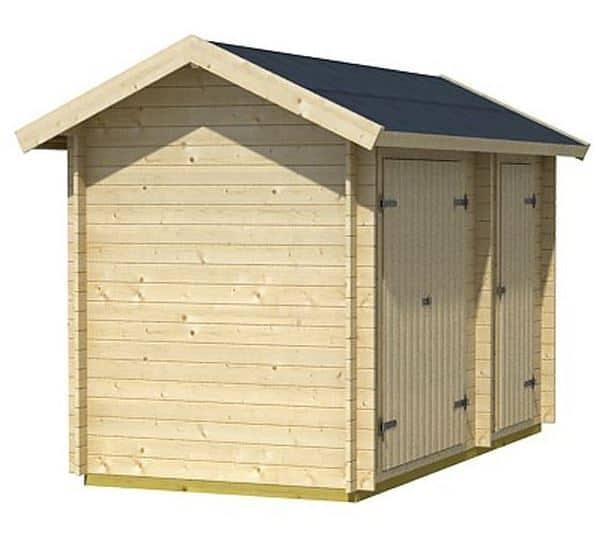 3 X 4 Workshop Log Cabin What Shed