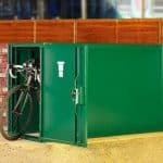 3 x 7 Asgard Double Ended Bike Locker