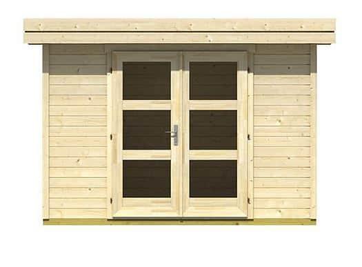 3.00 x 2.50 Sumatra Log Cabin