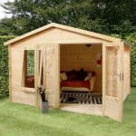 3.3 x 3 Waltons Log Cabin Studio