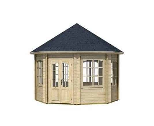 3.47 x 3.47 Jamaica Log Cabin
