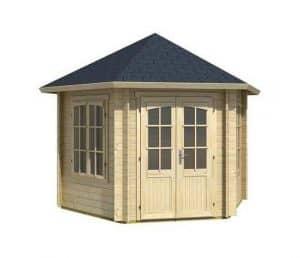 3.49 x 3.00 Rio Grande Log Cabin