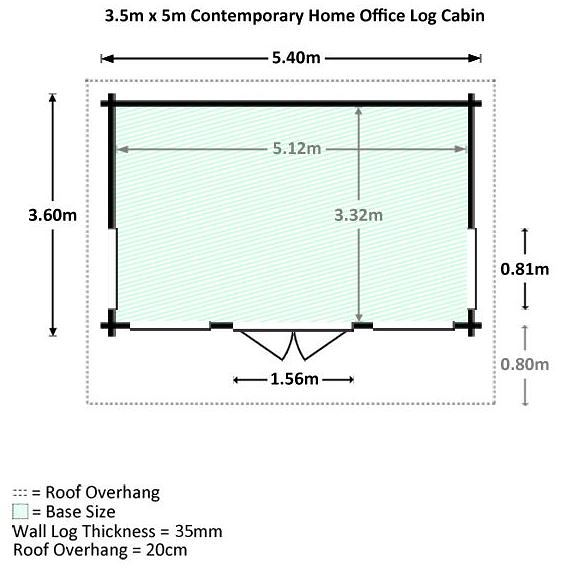 home office cabins. 35 x 5 waltons contemporary home office log cabin dimensions cabins s