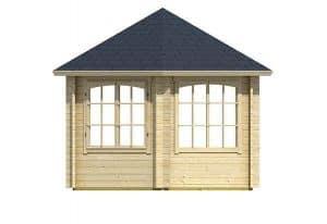 3.50 x 3.03 Ilmenau Log Cabin Right Side
