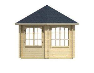 3.50 x 3.03 Ilmenau Log Cabin Windows