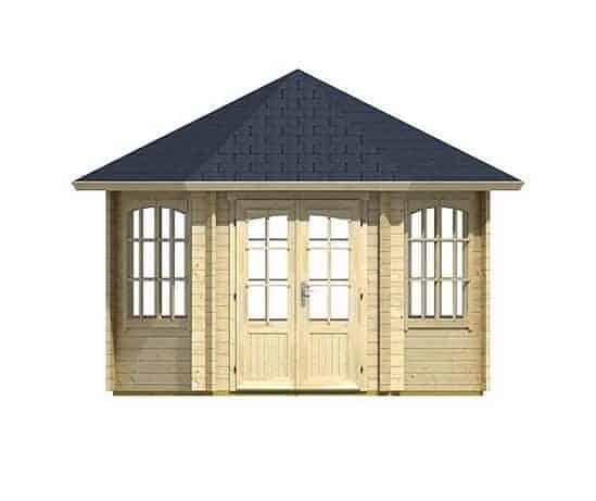 3.50 x 3.03 Ilmenau Log Cabin