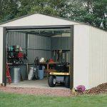 3.71 x 2.97m Arrow Murryhill VT1210 Metal Garage