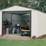 3.71 x 7.35m Arrow Murryhill VT1224 Metal Garage