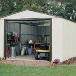 3.71 x 9.54m Arrow Murryhill VT1231 Metal Garage