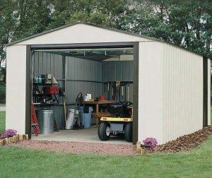3.71 x 9.54m Arrow Murryhill VT1231 Metal Garage