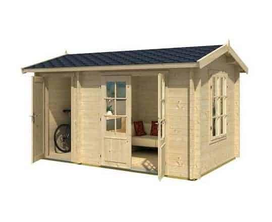 3.9 x 2.4 Wrexham 1 Log Cabin