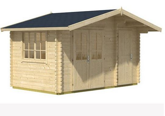3.90 x 2.40 Borkum 1 Log Cabin