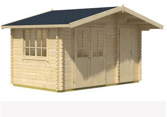 3.90 x 3.00 Borkum 2 Log Cabin