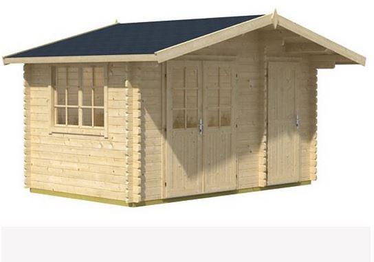 3.90 x 3.00 Borkum 2 Log Cabin