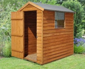 3'10 x 5'11 Shed-Plus Premium Overlap Apex Shed